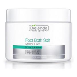 Foot Bath Salt With Lime & Mint sól do kąpieli stóp z limonką i miętą