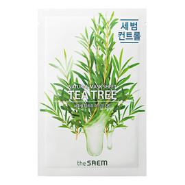 Tea Tree maska w płachcie do twarzy z ekstraktem z drzewa herbacianego