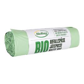 Worki na odpady organiczne i zmieszane, 100% biodegradowalne i kompostowalne 35L rolka 20 szt