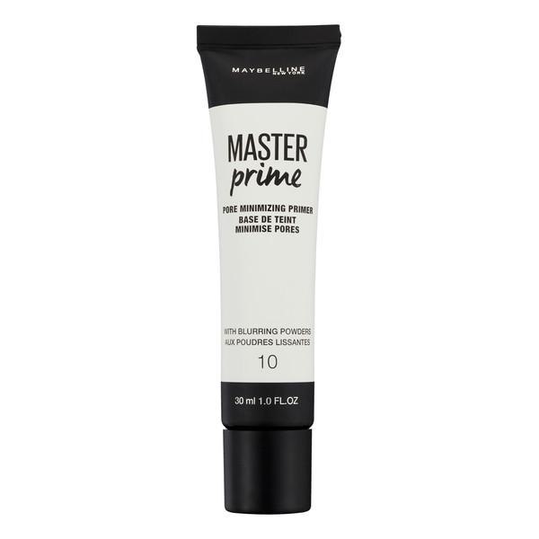 Maybelline Master Prime baza pod podkład do wygładzenia skóry i zmniejszenia widoczności porów 30ml