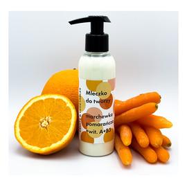 Mleczko do twarzy Marchewka z pomarańczą