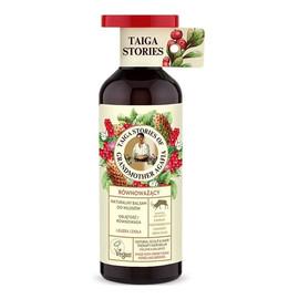 Naturalny równoważący balsam do każdego rodzaju włosów z leuzeą i ziołami