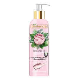 Pasta do mycia twarzy z różową glinką