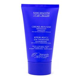Krem-mus do mycia twarzy nawilżający do skóry suchej i normalnej
