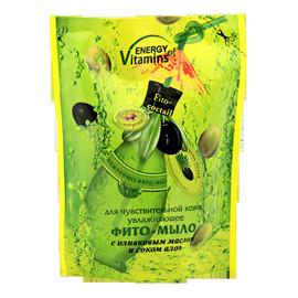 Nawilżające mydło do skóry wrażliwej z oliwą z oliwek i ekstraktem aloesowym