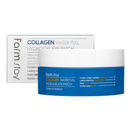 Farm Stay Collagen Water Full Hydrogel Eye Patch Kolagenowe hydrożelowe płatki pod oczy 60 szt.