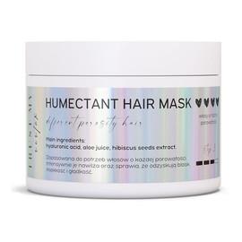 Humektantowa maska nawilżająca uniwersalna do włosów o każdej porowatości