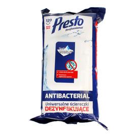 Ściereczki czyszczące+płyn 2w1 Antibacterial 1op.-120szt