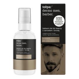 barber balsam-żel do twarzy z zarostem i brodą