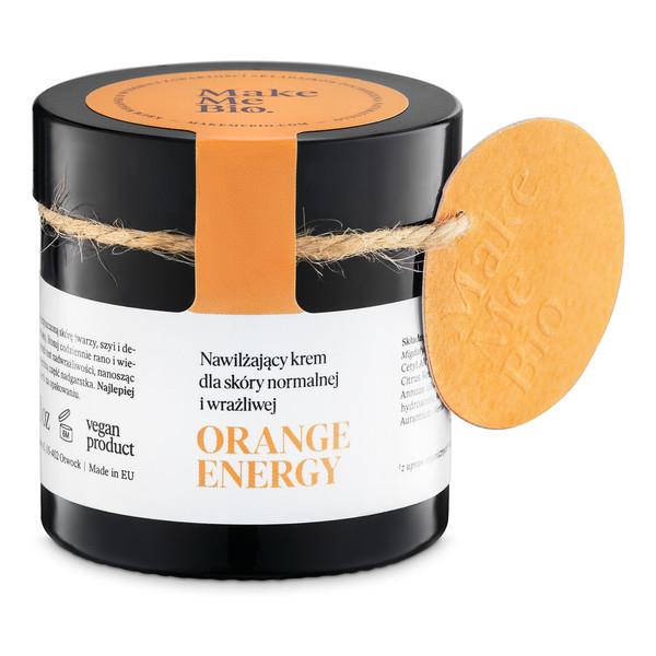 Make Me Bio Orange Energy Nawilżający Krem Dla Skóry Normalnej i Wrażliwej 60ml