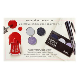 Zestaw prezentowy Magic Moment (cienie trio nr 303+lakier FYC nr 114+Mascara Pump Your Lashes)