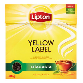 Herbata czarna liściasta