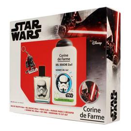 Zestaw prezentowy Star Wars (woda toaletowa 50ml +żel pod prysznic 250ml+gadżety)