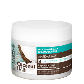 maska z olejem kokosowym do suchych i łamliwych włosów
