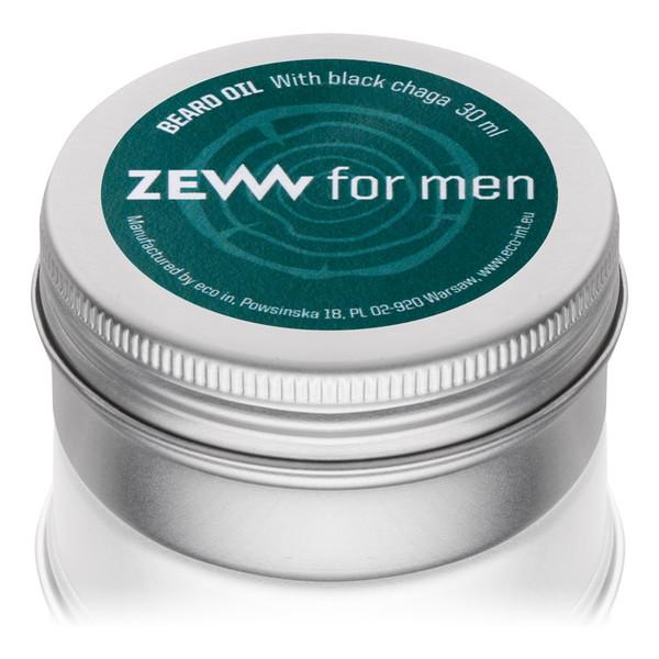 Zew For Men Olejek do brody zawiera czarną hubę 30ml