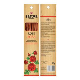 Naturalne Indyjskie Kadzidła Wytwarzane Ręcznie Z Miłością Róża 15szt