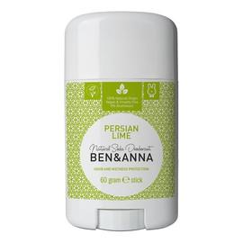 naturalny dezodorant na bazie sody sztyft plastikowy Persian Lime
