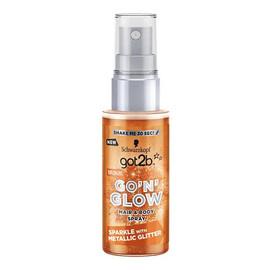 Go'N'Glow Hair & Body Spray koloryzujący do włosów i ciała z brokatem Bronze