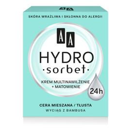 Hydro Sorbet Krem multinawiżenie + matowienie - cera mieszana i tłusta