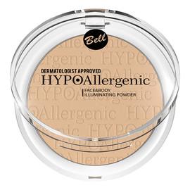 Face&Body Illuminating Powder Hypoalergiczny rozświetlacz do twarzy i ciała