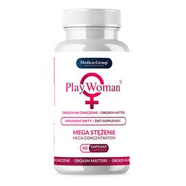 Playwoman suplement diety na pobudzenie orgazmu 60 kapsułek