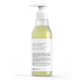 100% czysty do twarzy ciała i włosów pompka z olejem migdałowym