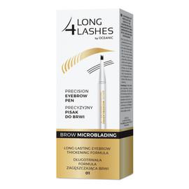 Eyebrow Pen Microblading precyzyjny pisak do brwi