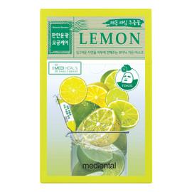 rozjaśniająca maska w płacie z ekstraktem z cytryny i limonki