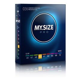 Condoms prezerwatywy 53mm 3szt