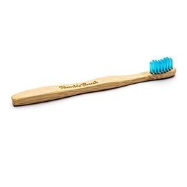 bambusowa Szczoteczka do zębów dla dzieci niebieska 14,5cm