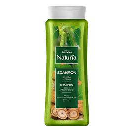 Naturia szampon do włosów przetłuszczających się brzoza i łopian