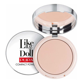Puder matujący Nude Skin Compact Powder SPF15