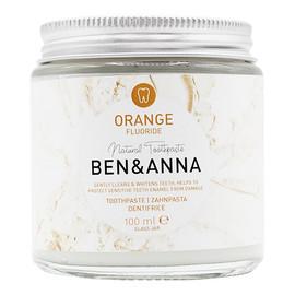 naturalna pasta do wrażliwych zębów z fluorem Orange