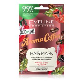 Aroma Coffee Maska do włosów słabych i łamliwych regeneracja i wzmocnienie