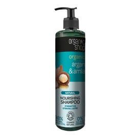 Szampon odżywczy do włosów Organiczny Argan & Amla