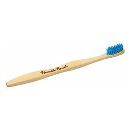 Bambusowa szczoteczka do zębów średnia Niebieska