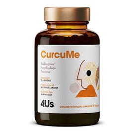 4us curcume poprawa trawienia i antyoksydacja suplement diety 60 kapsułek