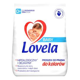 Baby hipoalergiczny proszek do prania ubranek niemowlęcych i dziecięcych do kolorów