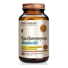 Saccharomyces boulardii suplement diety wspierający jelita 60 kapsułek