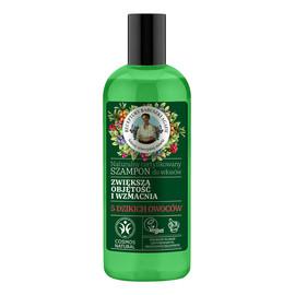Naturalny wzmacniający szampon do włosów zwiększający objętość