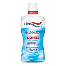 Fresh and minty mouthwash płyn do płukania jamy ustnej