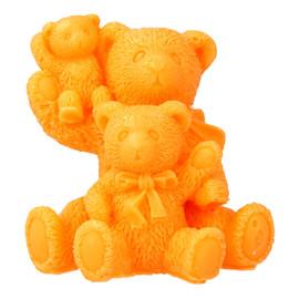 Mydełko glicerynowe Rodzinka Trzy Misie pomarańczowe