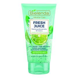 Limonka gruboziarnisty peeling detoksykujący do twarzy