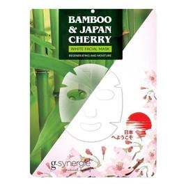 maseczka do twarzy w płachcie Bambus & Wiśnia Japońska