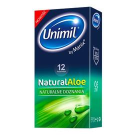Natural aloe lateksowe prezerwatywy 12szt