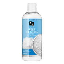 matująca woda micelarna z sodą oczyszczoną do cery tłustej i mieszanej