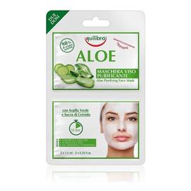 oczyszczająca aloesowa maseczka do twarzy 2x7,5ml
