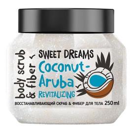 Odbudowujący scrub do ciała Kokos - Aruba