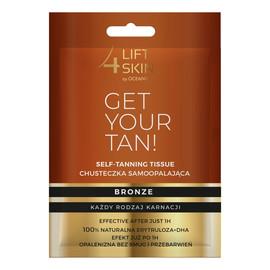Get Your Tan! Chusteczka samoopalająca 1szt