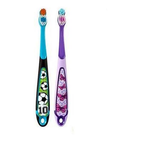 Jordan Szczoteczka do zębów dla dzieci 6-9 lat miękka z linijką